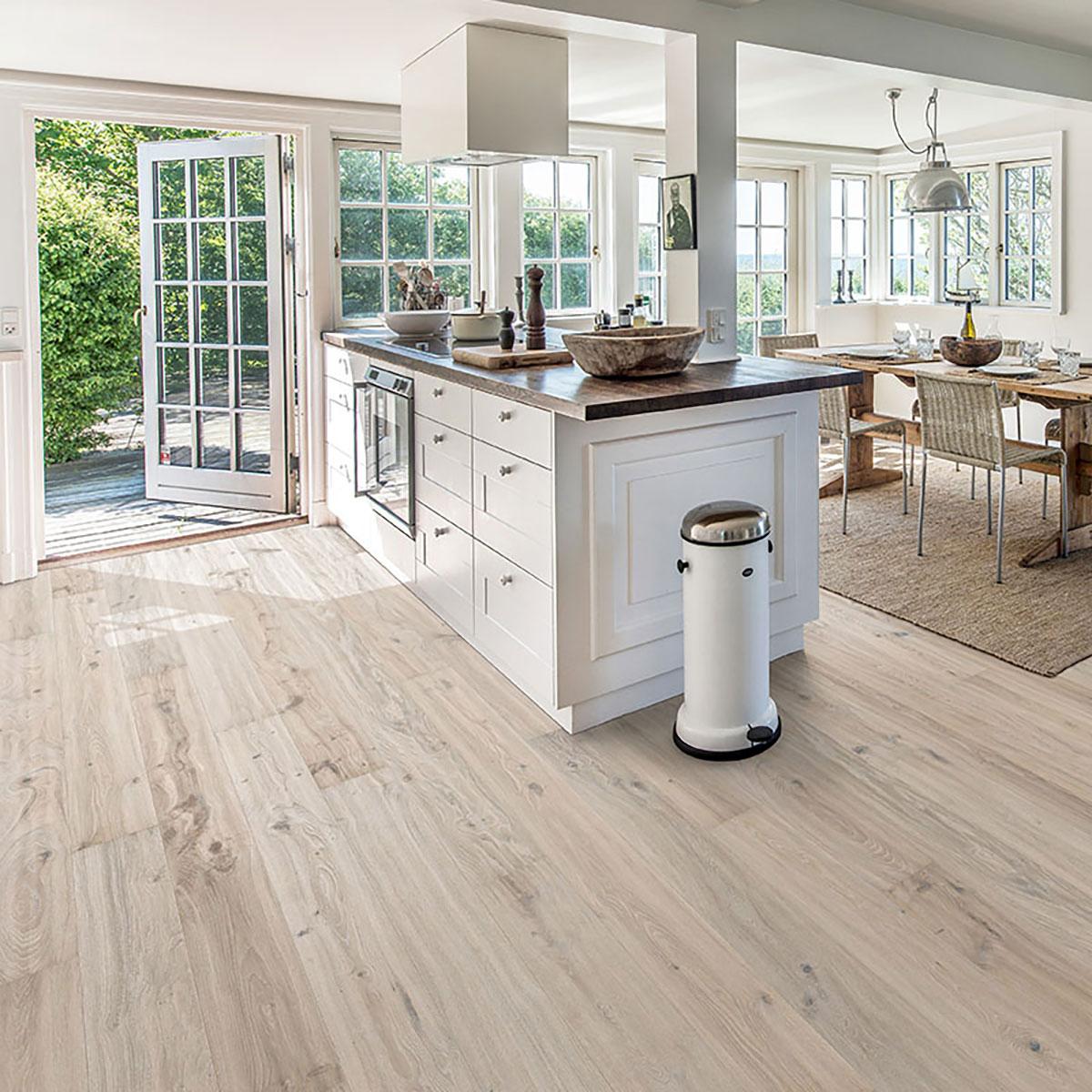 White Washed Oak Flooring Enhanced, Laminate Flooring White Washed Oak